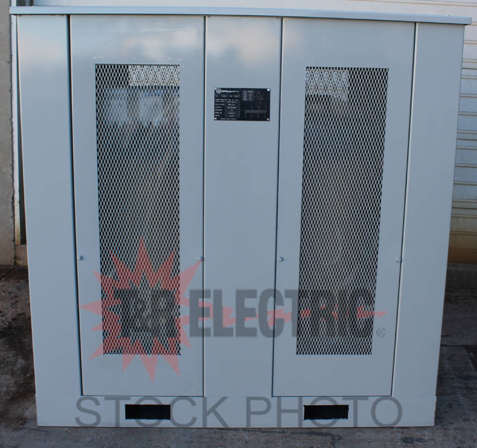 Dry Type Three Phase 500 Capacity 12470 Delta Primary Voltage Drytype Transformer Testing Open Electrical Kva